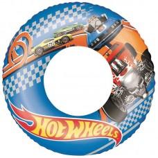 Круг для плавания Hot Wheels, 56 см, Bestway 93401