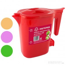 Чайник электрический Мастерица, 0,5л., 500Вт, цв. в ассорт.