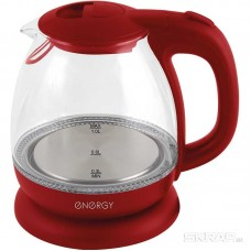 Чайник ENERGY E-296 (1 л)  стекло, пластик