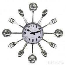 Часы настенные кварцевые HOMESTAR  модель HС-15 ложки, вилки, шумовки