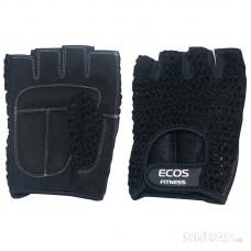 Перчатки для фитнеса, мужские, цвет - черный, р-р: S, SB-16-1955