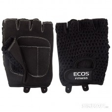 Перчатки для фитнеса, мужские, цвет -черный, размер: M, модель: SB-16-1955