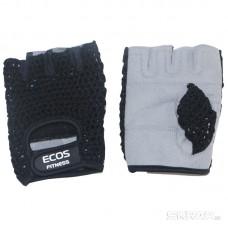 Перчатки для фитнеса, мужские, цвет -черный-серый, размер: S, модель: SB-16-1953
