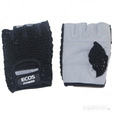 Перчатки для фитнеса, мужские, цвет -черный-серый, размер: M, модель: SB-16-1953