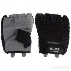 Перчатки для фитнеса, мужские, цвет -черный-серый, размер: L, модель: SB-16-1953
