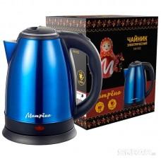 Чайник МАТРЁНА MA-002 электрический (1,8 л) стальной синий