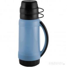 Термос в пластик корп, стекл колба, 1,0 л, 2 чашки, серия PRATICO, тм Mallony