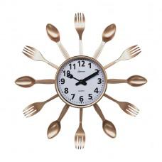 Часы настенные кварцевые HOMESTAR  модель HС-14 ложки, вилки