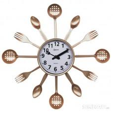 Часы настенные кварцевые HOMESTAR  модель HС-14 ложки, вилки, шумовки