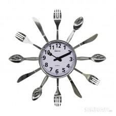 Часы настенные кварцевые HOMESTAR  модель HС-15 ложки, вилки, ножи