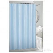 Штора для ванной 180х180 см голубая
