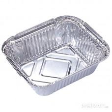 Форма для выпечки, LAMINA, размер: 15*12*4,7 см,  из алюм фольги, прямоугольная, одноразовая_упаковка 50 шт