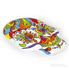 Надувной плавучий матрас (остров) Fiesta Skull 193*141 см Bestway 43194