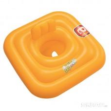 Круг для плавания c сиденьем и спинкой трёхкамерный Swim Safe, ступень A 76*76 см Bestway 32050