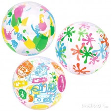 Мяч пляжный дизайнерский 31036 51 см Bestway