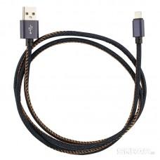 Кабель Energy ET-04 USB/MicroUSB, цвет - синий деним