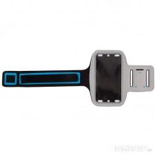 Чехол спортивный ECOS для смартфона, SC-45, цв. серый