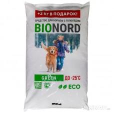Антигололедное средство BIONORD GREEN – 25С 12кг