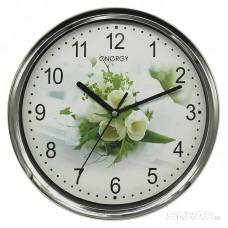 Часы настенные кварцевые ENERGY модель ЕС-128 круглые