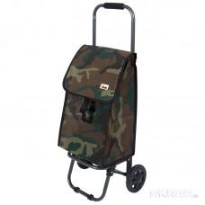 """Тележка с сумкой Рыжий кот """"KHAKI"""", 25кг"""