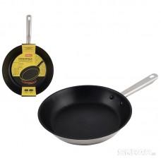 Сковорода GOURMET из нержавеющей стали с антипригарным покрытием, диа 28 см