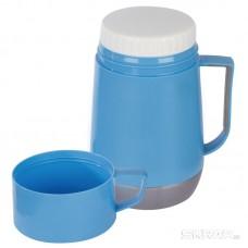 Термос-контейнер в пластиковом корпусе со стеклянной колбой VALENTE, 0,6 л