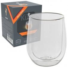Стакан AROMA, объем:200 мл с двойными стенками (боросиликатное стекло)