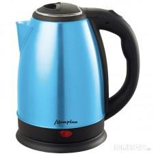 Чайник МАТРЁНА MA-002 электрический (1,8 л) стальной голубой
