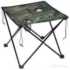 Стол складной TD-07, р-р 50*50*60 (камуфляж)
