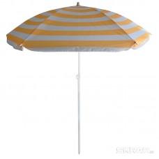 Зонт пляжный BU-64 диаметр 145 см, складная штанга 170 см