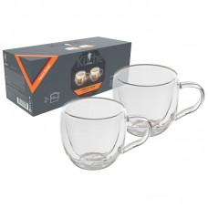 Набор из 2 чашек AROMA (2*150 мл) с двойными стенками (боросиликатное стекло)