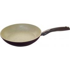 Сковорода алюминиевая с мраморным антипригарным покрытием Mallony MP-24, диам - 24см