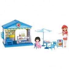 Игрушка набор: кафе с куклами Krutti DS01-1