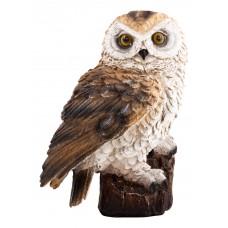 Фигурка садовая со звуком «Сова», GK-Owl-01, материал: полистоун, размеры: 11*9*15 см