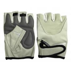 Перчатки для фитнеса 5102-BL, цвет: беж. размер: L