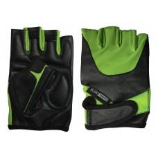Перчатки для фитнеса 5102-GM, цвет: зеленый, размер: М