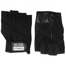 Перчатки для фитнеса 7001-MIX, цвет: черный, размер: М, L, XL (микс размеров в подупаковке: 6 пар M, 6 пар L, 6 пар XL)