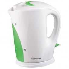 Чайник Homestar HS-1004 (1,7 л) бело-зеленый