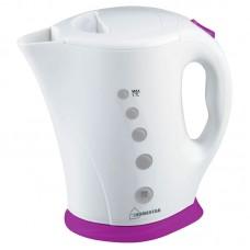 Чайник HomeStar HS-1005 (1,7 л) бело-фиолетовый