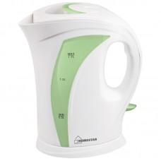 Чайник HomeStar HS-1006 (1,7 л) бело-зеленый