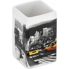 "Стакан для ванной комнаты ""Нью-Йорк"" TU-NY, керамика"