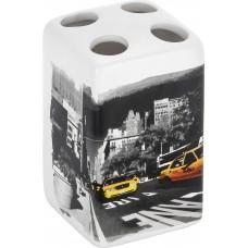 """Держатель для зубных щеток """"Нью-Йорк"""" TBH-NY, керамика"""