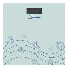Весы напольные электронные HOMESTAR HS-6001B  (стеклянная поверхность, 180 кг)