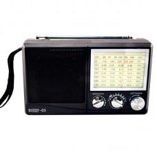 Радиоприемник Эфир-03, УКВ 64-108МГц, бат.4*АА (не в компл.)