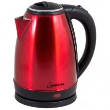 Чайник Homestar HS-1010 (1,8 л) стальной, красный