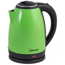 Чайник Homestar HS-1010 (1,8 л) стальной, зеленый