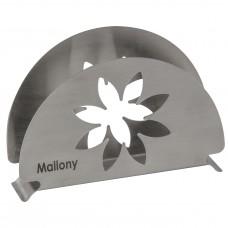Держатель для салфеток из нержавеющей стали FIORE, тм Mallony
