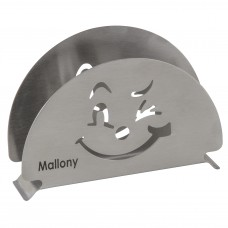 Держатель для салфеток из нержавеющей стали GATTO, тм Mallony
