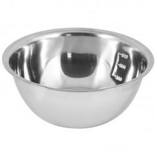 Миска Bowl-Roll-20, объем 1,5 л, из нерж стали, зеркальная полировка, диа 20 см
