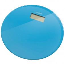Весы напольные электронные ENERGY EN-420 RIO (стеклянные, круглые, голубые)